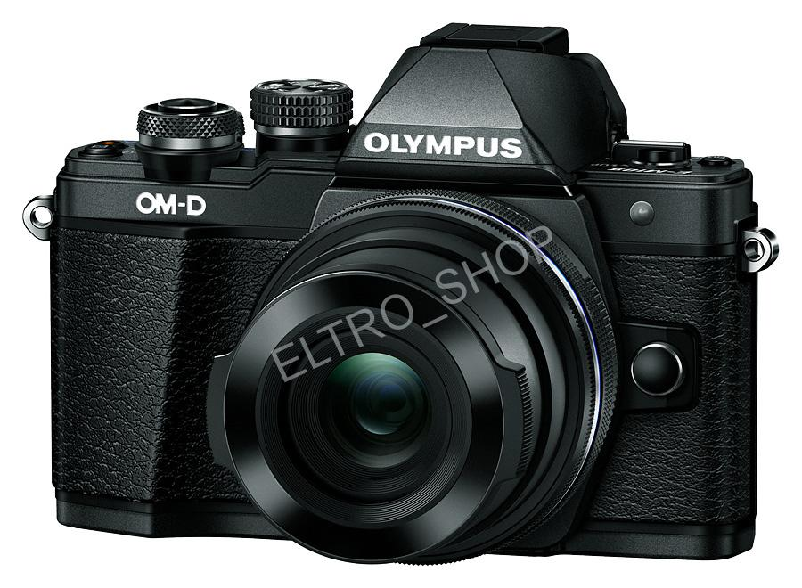 Olympus E-M10 mark II 1442 kit black fotoaparát