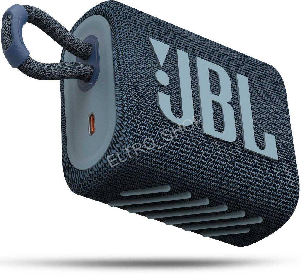 JBL GO3 Blue,reproduktor bluetooth