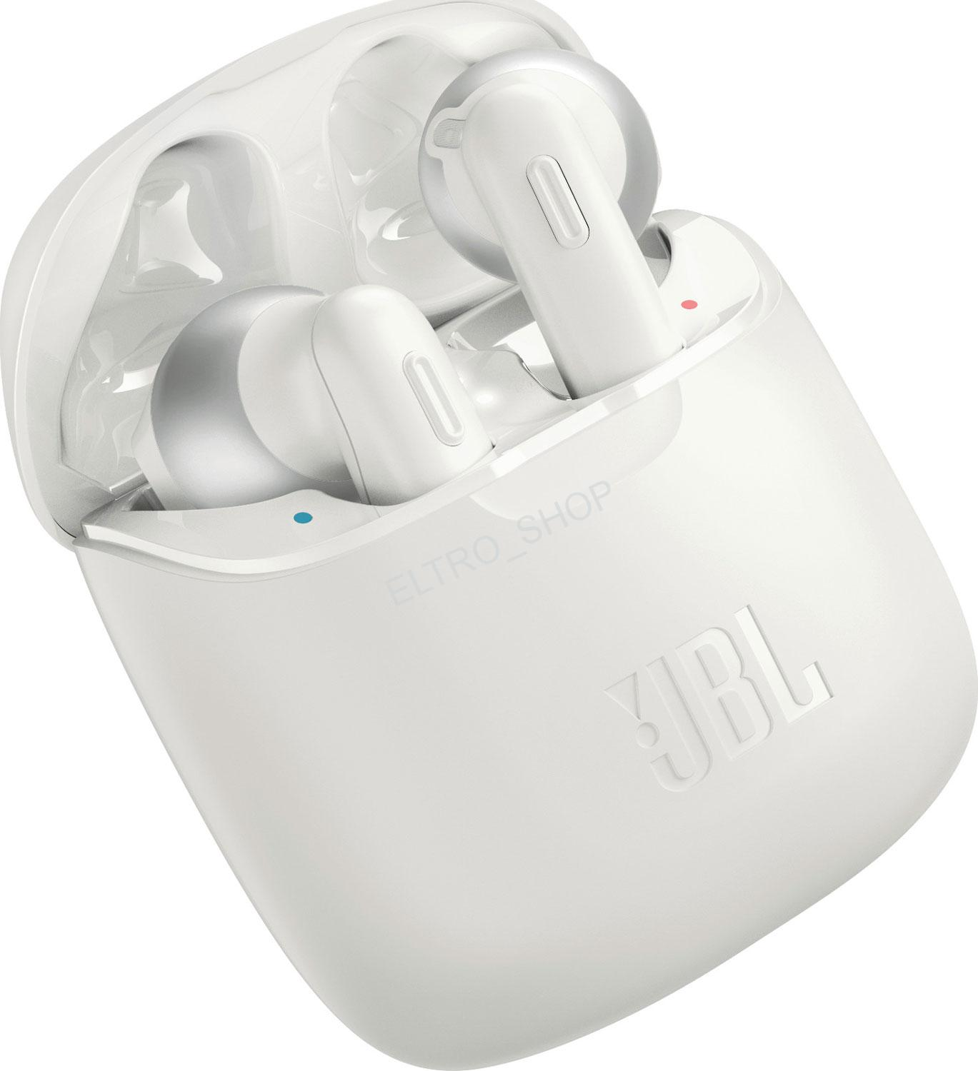 JBL TUNE 220TWS white True Wireless slúchadla