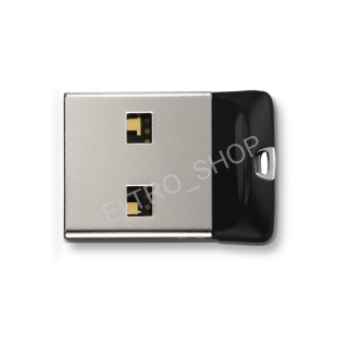 Sandisk Cruzer Fit USB Flash Drive 64 GB