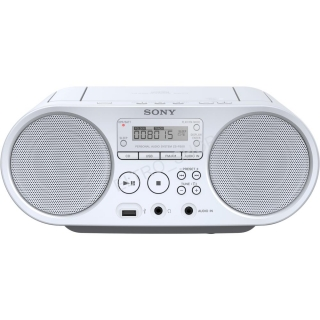 Sony ZS-PS50W prenosné rádio s CD