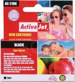 ActiveJet Ink cartridge Canon BCI-21 Bk - 9 ml AC-21Bk
