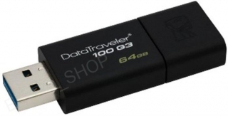 Kingston 64GB USB 3.0 DataTraveler 100 G3 usb kľúč