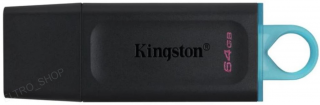 64GB Kingston USB 3.2 (gen 1) DT Exodia modrá usb kluč