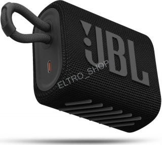 JBL GO3 BLACK,reproduktor bluetooth